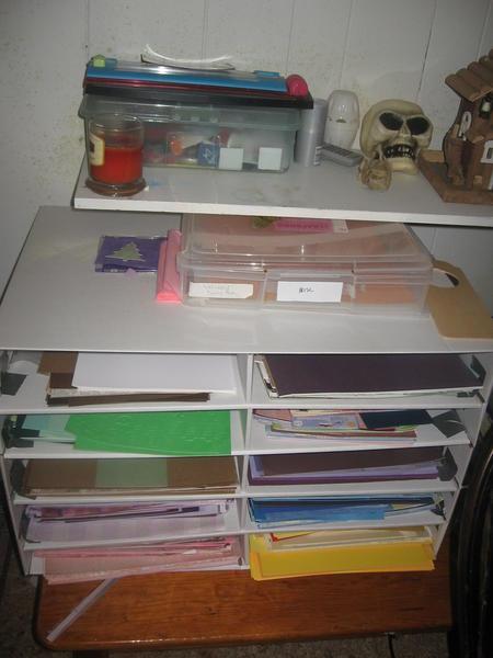 New Paper Storage