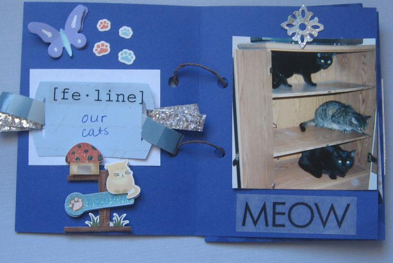 Family Cats Mini album page 2