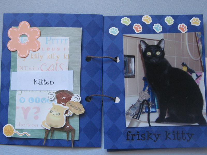 Family cats mini albumn page 3