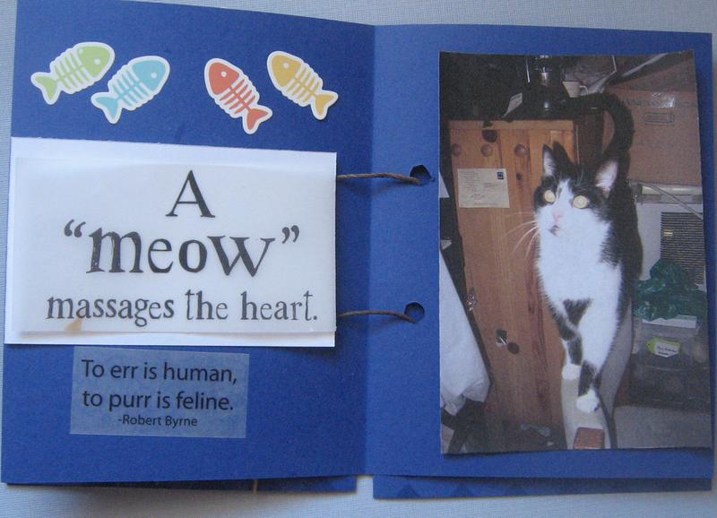 Family cats mini albumn page 4