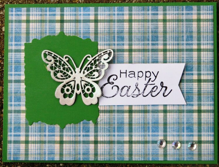 Happy Easter butterfly