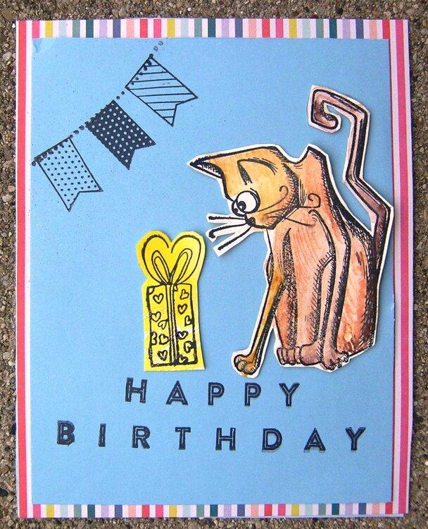 Happy Birthday - Crazy cats