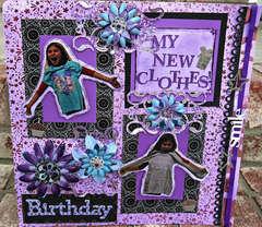My New Birthday Clothes - Fashion Challenge