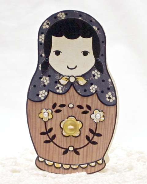 Woodgrain Doll