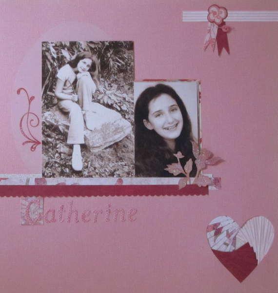 "Catherine age 11 ""Pink Challenge"""