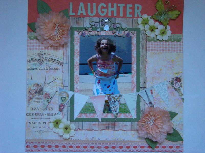 LAUGHTER  *** Scraps of Elegance***