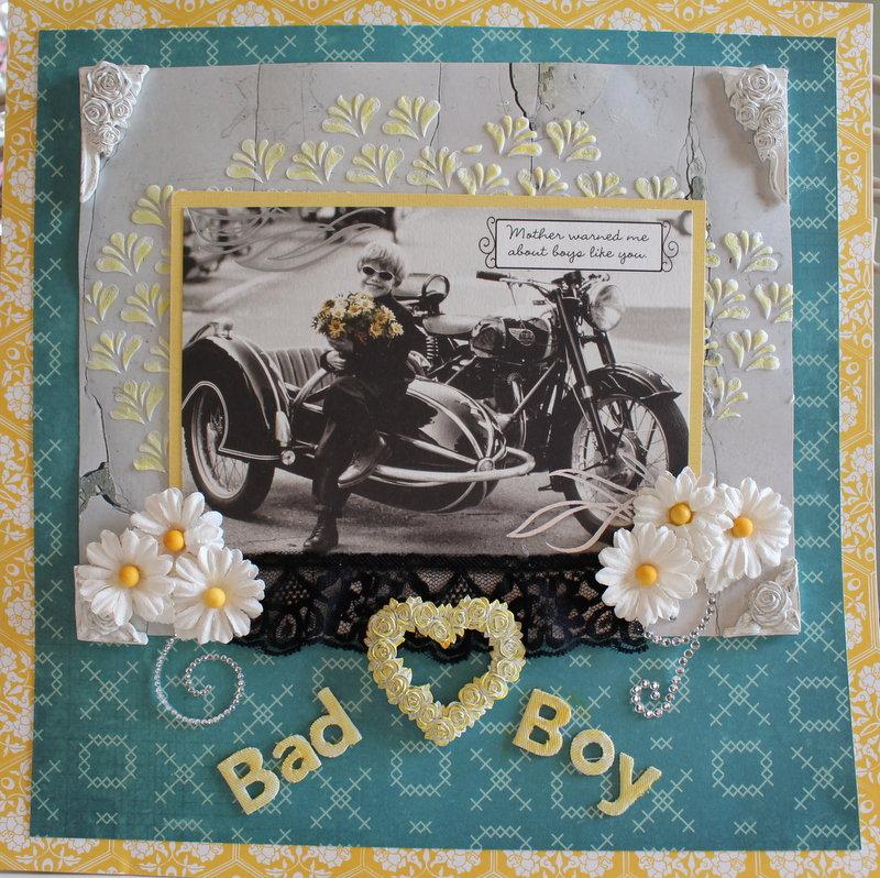 Bad Boy *** Scraps of Elegance Novemeber Kit***