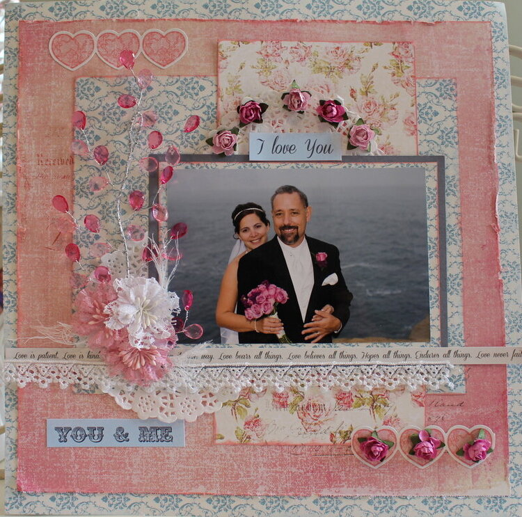 You and Me ***Scraps of Elegance**January Kit