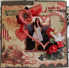 All Dressed Up***Scraps of Elegance February Kit***