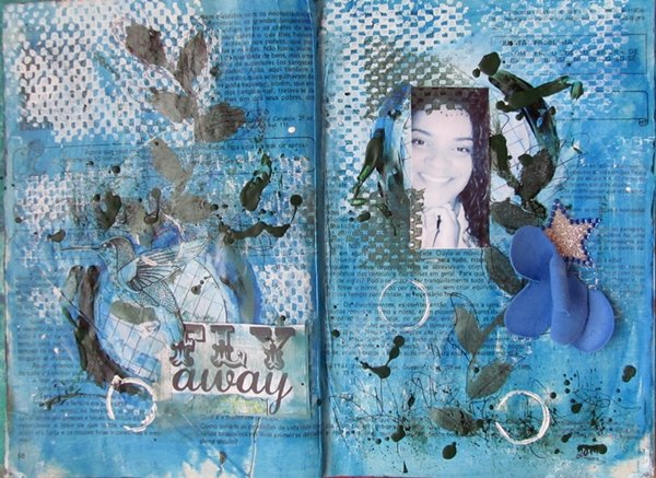 Art Journal/Fly Away