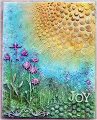 Joy Canvas - *Blue Fern Studios DT*