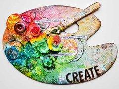 """""""Create"""" Artist's Palette *Prima*"""