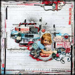 I Love Your Silly Side *2Crafty Chipboard*