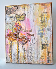 *Blue Fern Studios* Count Your Blessings Canvas
