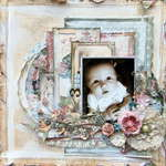 3 Months *CT Flying Unicorn* *2Crafty Chipboard*