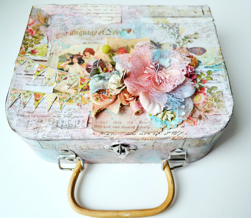 Altered Suitcase *Flying Unicorn CT*