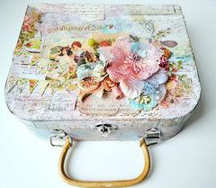 Altered Suitcase *Flying Unicorn CT*