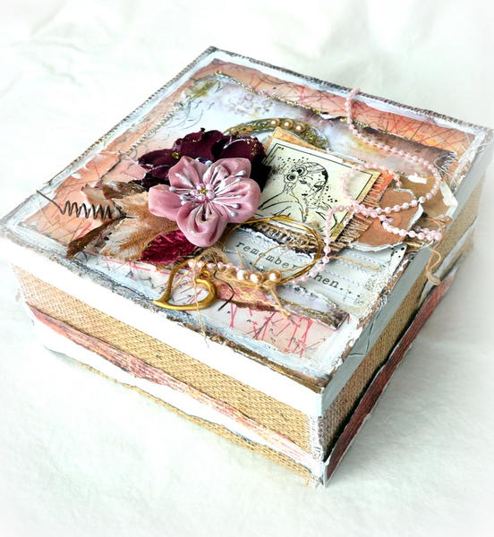 Altered Box *Flying Unicorn January kit- Off The Page*