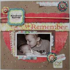 Kindred Spirits **We R Memory Keepers **