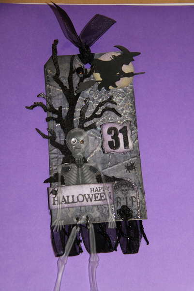 Autumn Splendor and Haunted Halloween Tag Swap