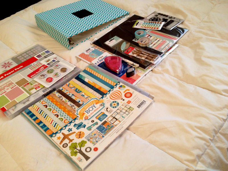 New scrapbooking goodies!