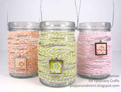 Twine Wrapped Lanterns