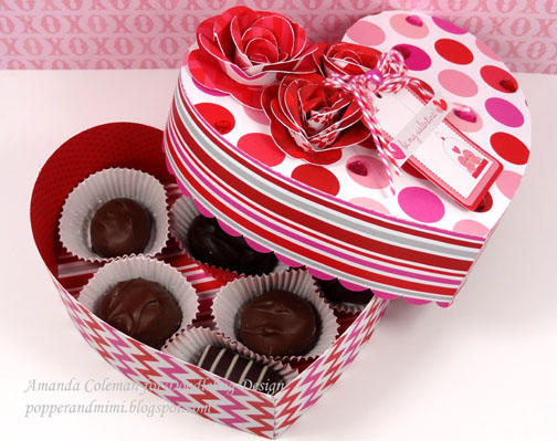 Heart Shaped Chocolates Box