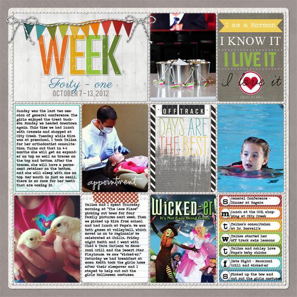 Week 41 - 2012