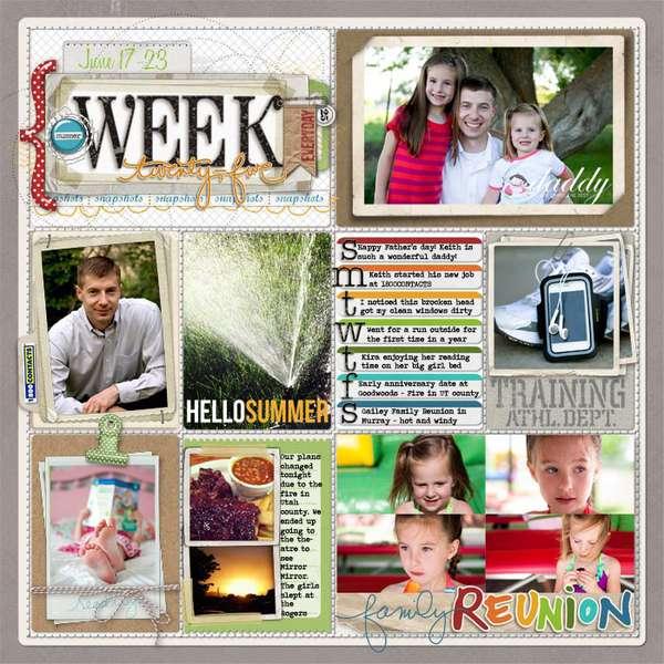 Week 25 -2012