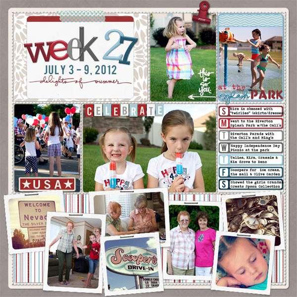 Week 27 -2012
