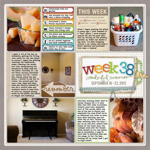 Week 38 - 2012