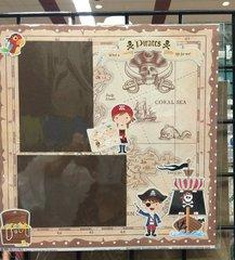 Yo Ho! a Pirates Life for me! **Scrapbook Customs
