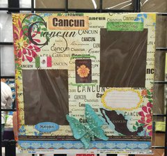 Cancun Mexico **Scrapbook Customs