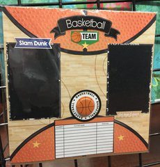 Basketball Team **Scrapbook Customs