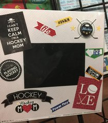 Hockey Mom **Scrapbook Customs