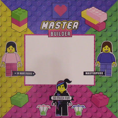 Master Builder Building Block Girl