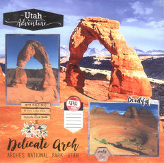 Delicate Arch Watercolor