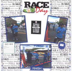 Race Day - Marathon