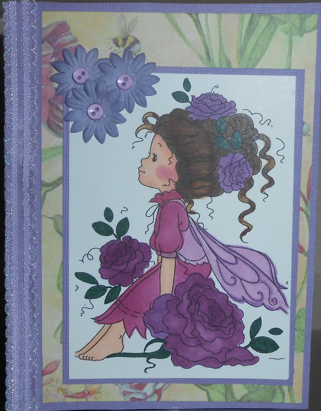 Roseta in purples