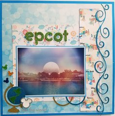 Epcot, see the world