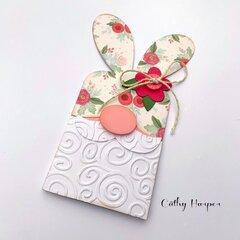 Carta Bella Gnome Bunny Card