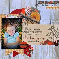 Autumn Memories SRM & Simple Stories