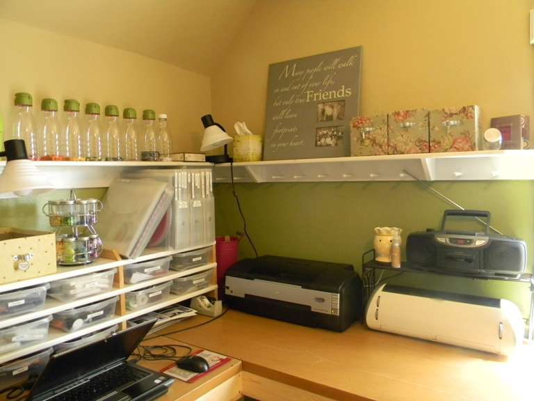 Re-Organized Scrap Room 2