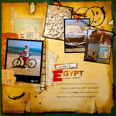 in the desert of Egypt