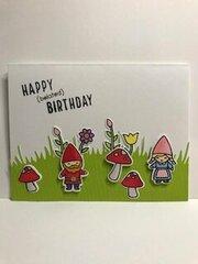 Happy Belated Birthday Gnome Friend