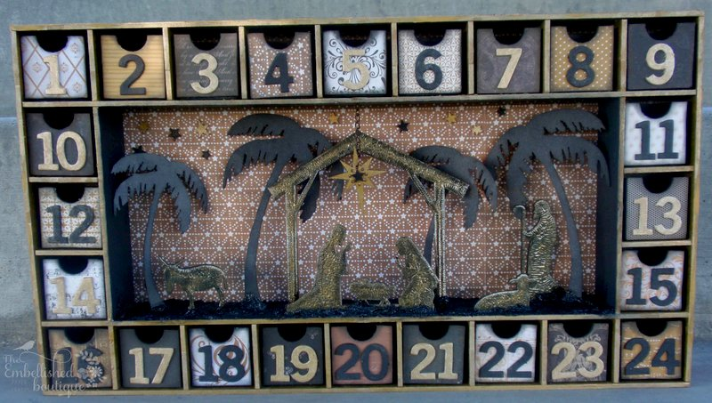 Nativity Christmas Countdown