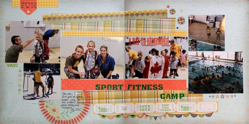Sport fitness camp