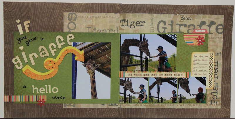 If you give a giraffe..