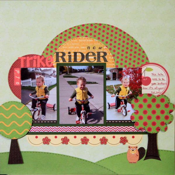 (old) Trike (new) Rider