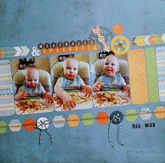 Meatballs & Spaghetti: his way